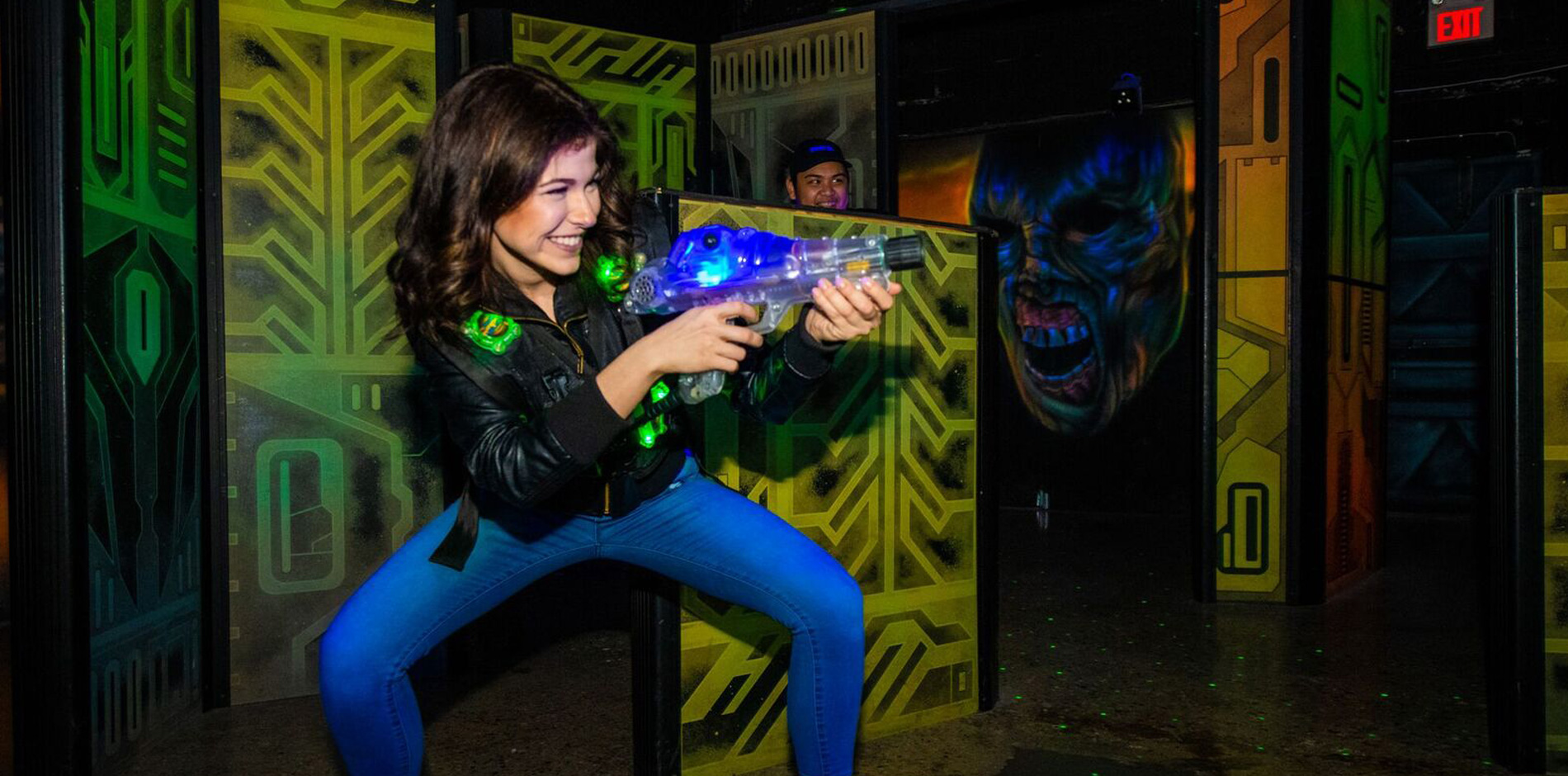 Laser Tag at U-Puttz Amusement Centre