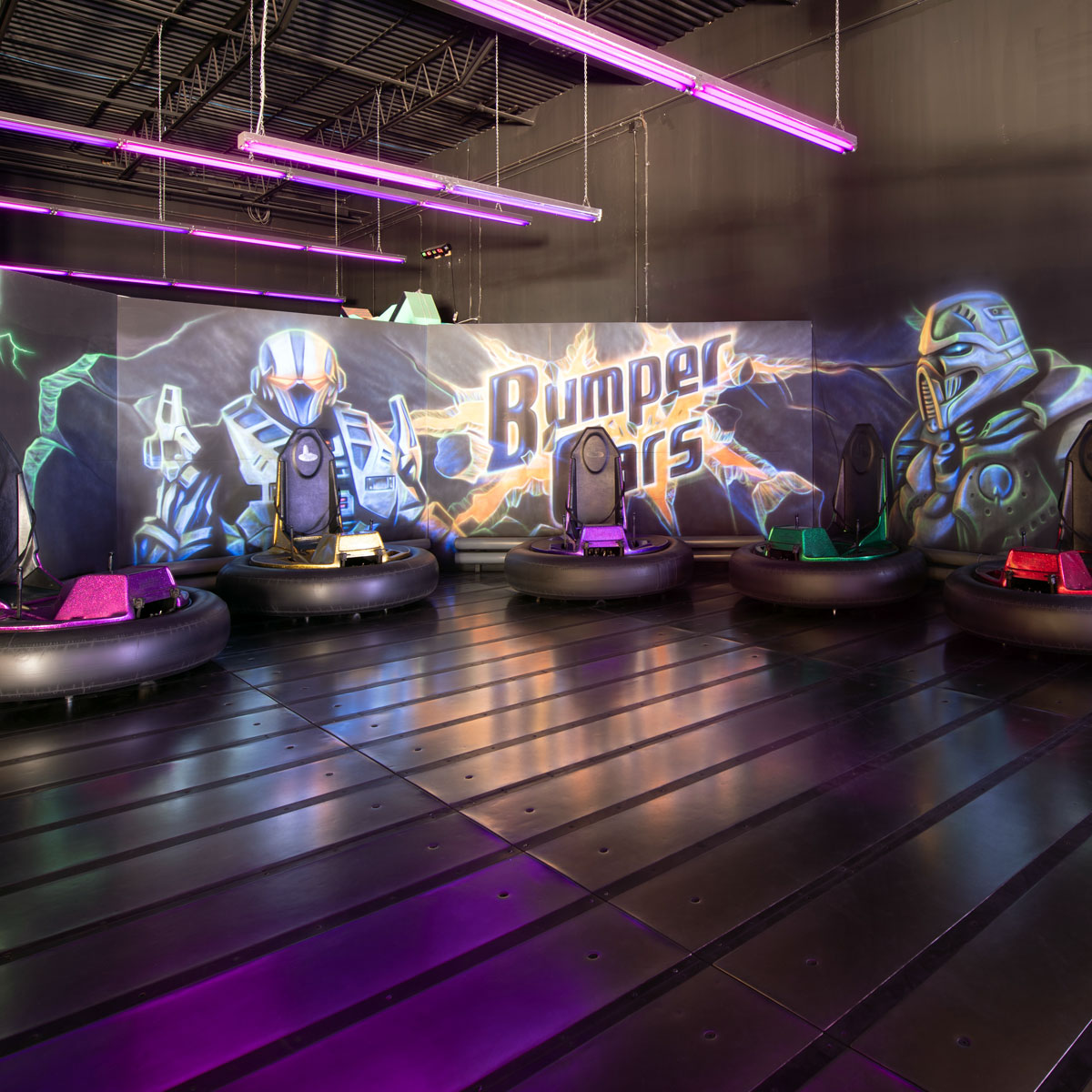5 Ride Bumper Cars